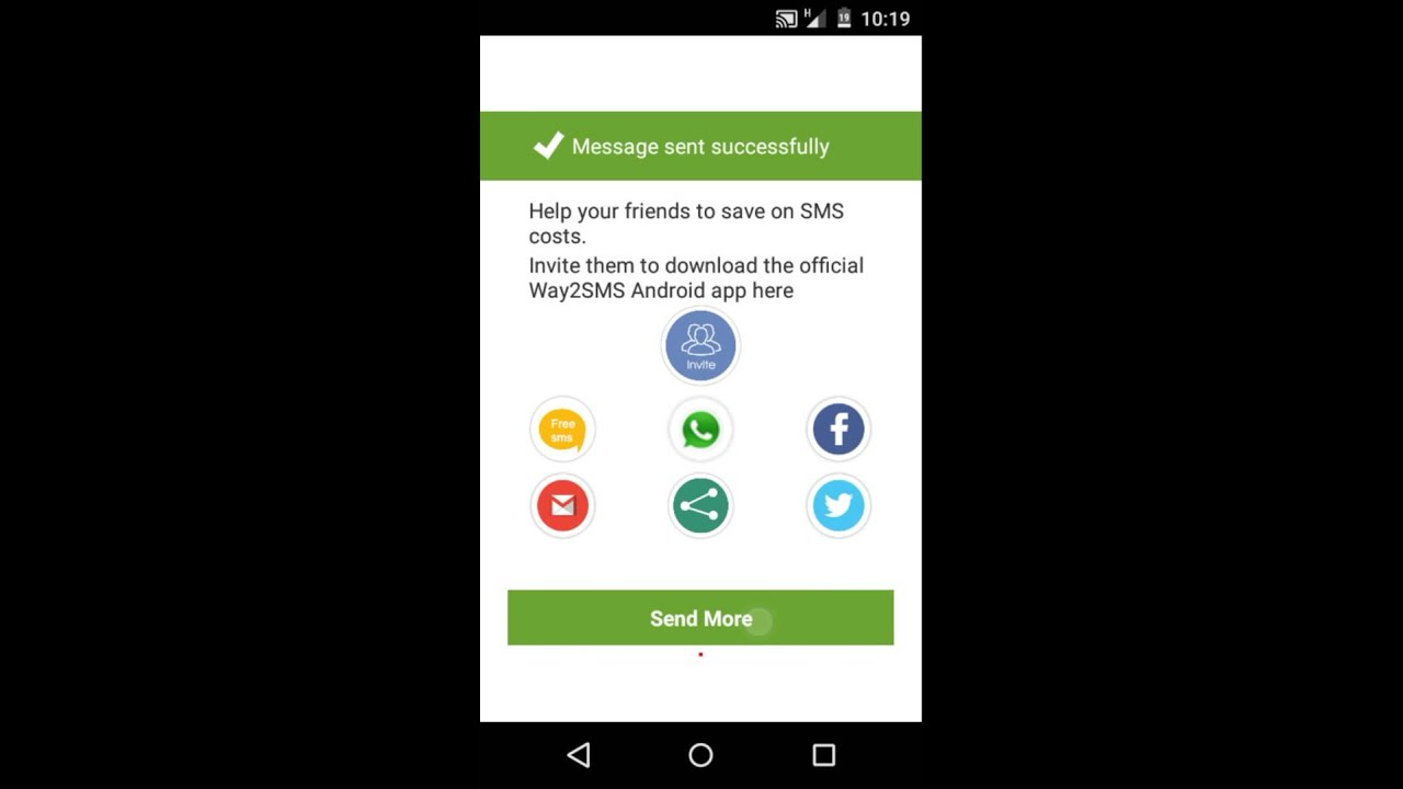 Way2sms send free sms to any number for android apk download.