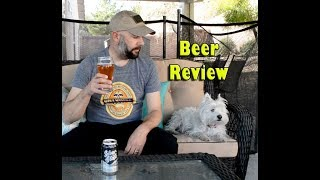CraftHaus Brewing Silver State - Beer Review - Westie - West Highland Terrier - Bloopers