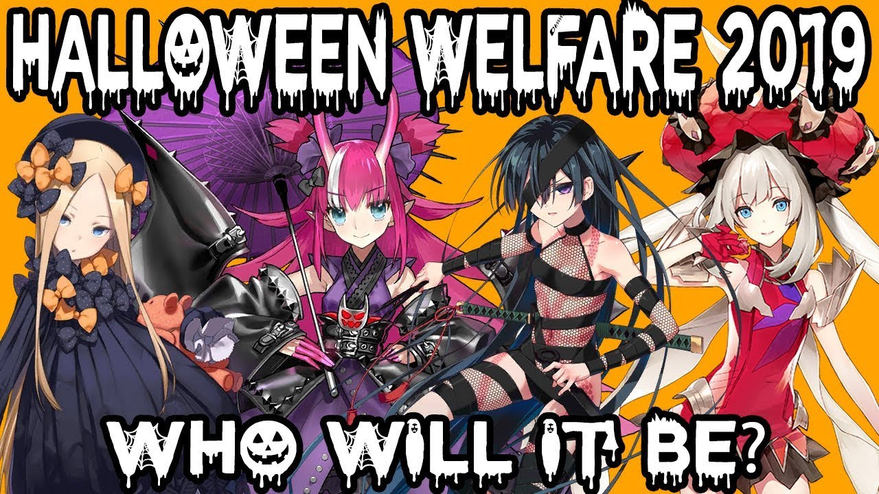 Fgo Halloween 2020 Jp Who will be the next Welfare Servant for Halloween 2019? 【Fate