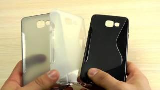 """ОБЗОР: Новомодный Силиконовый Чехол-Накладка для Samsung Galaxy A5 (A510) 2016 года серия """"Волна"""""""