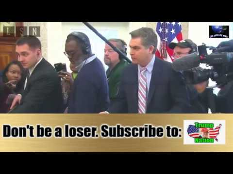 Trump kicks Jim Acosta out of Oval Office