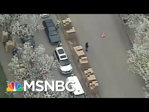 Hundreds Of Cars Line Up For Emergency Supplies From Pittsburgh Food Bank | Katy Tur | MSNBC