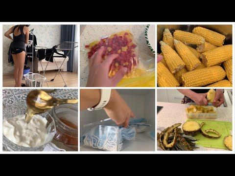 Хранение масок Мотивация на уборку Заготовки еды
