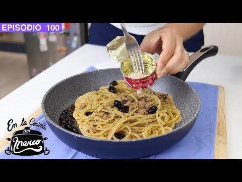 PASTA con ATUN 🐟 receta fácil italiana