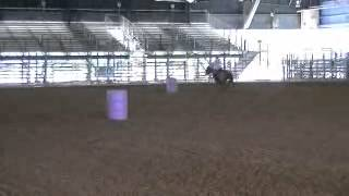 Tina on Clinic Horse not using hind end