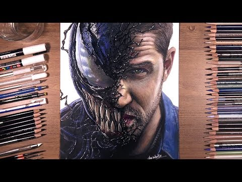 Drawing Venom (Tom Hardy) | drawholic