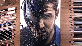 Drawing Venom (Tom Hardy) | drawholic thumbnail