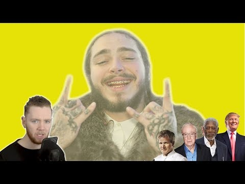 Celebrities use auto tune (Post Malone - Rockstar) | Scheiffer Bates