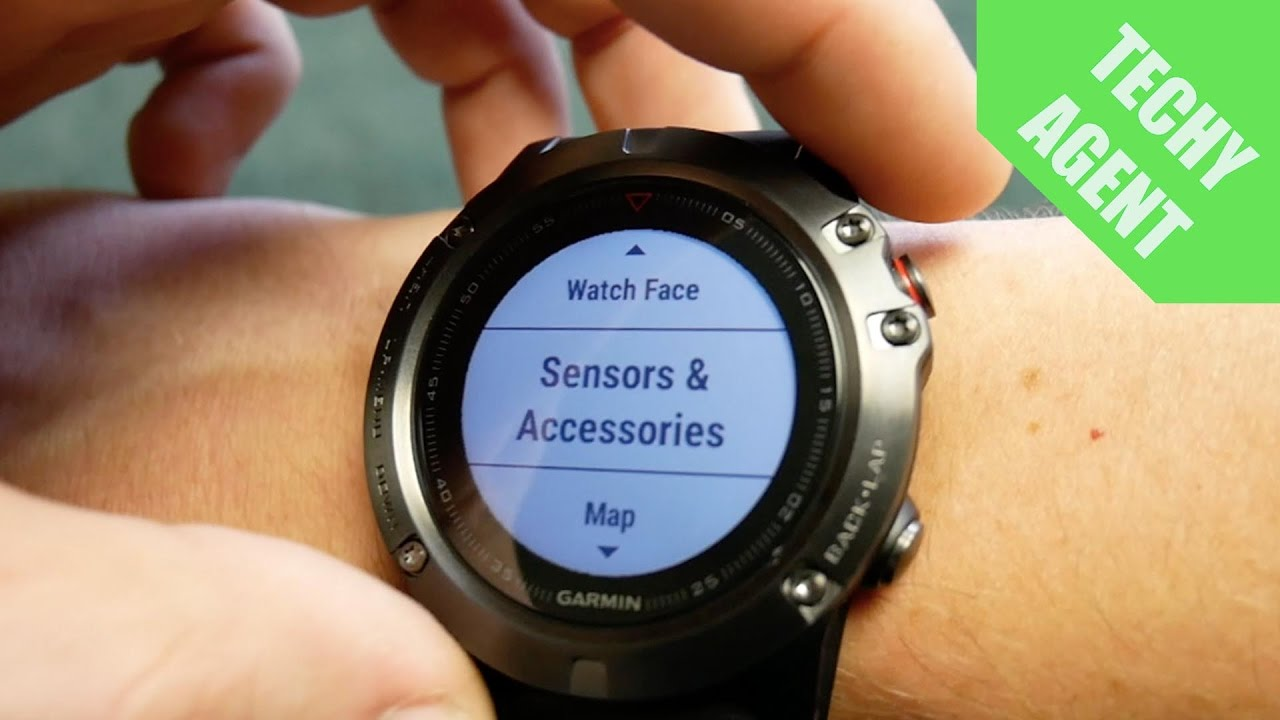 Garmin Fenix 5, 5S, 5X - External Sensors - Review & Test