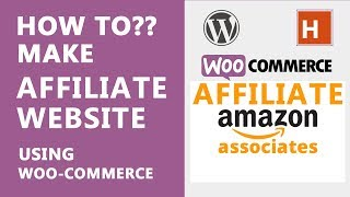 how to make an affiliate website using woo-commerce   wordpress tutorials in hindi Ep#32
