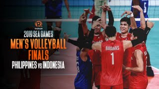 Sea games 2019 Grand Final Voli Putra Indonesia Vs Filipina