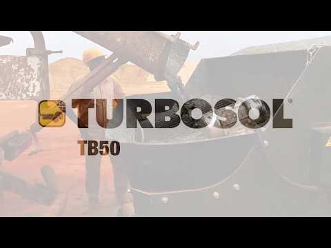 TB50 on construction site in Bobo-Dioulasso, Burkina Faso