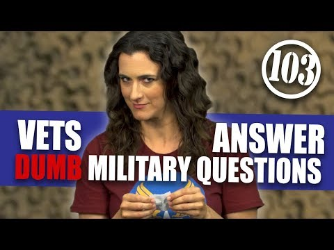 Do Soldiers Fall In Love While In War Zones? | Dumb Military Questions 103