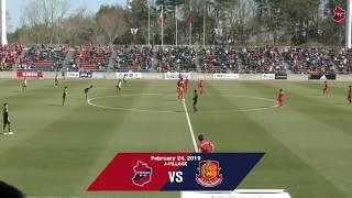 【ハイライト】福島ダービー いわきFC vs. 福島ユナイテッドFC (2019.02.24 Jヴィレッジスタジアム)