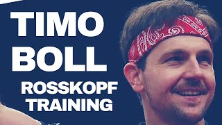 Training With TIMO BOLL and COACH ROSSKOPF @ WORLD CUP 2017 - Rare Private Record, Short Form