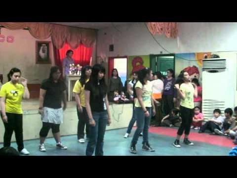 Lemon Drops Dance Presentation During the Awarding