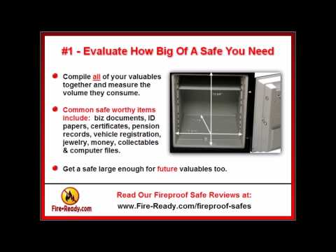 How To Pick The Best Fireproof Safe For Home Use | Fire Safe Reviews & Tips