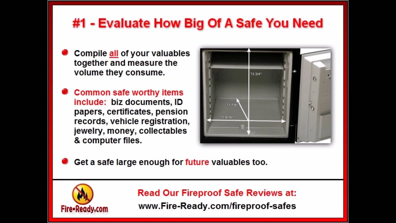 how to pick the best fireproof safe for home use fire safe reviews u0026 tips