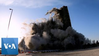 Tower Collapsed in 10 Seconds in the UAE