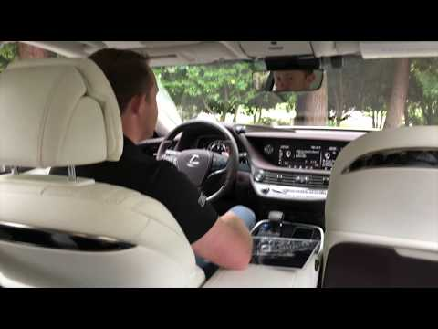 2018 Lexus LS 500 and LS 500h Introduction Seats and Sound System