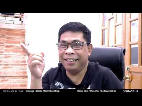 Dante Maravillas Live Sept 17, 2019 || Oil Crisis??? || Pilipinas Mayaman sa Oil Reserve