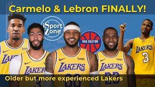 Carmelo & Lebron, Westbrook at Davis, DINAGDAGAN pa ni Trevor Ariza, Ellington at Mali Monk.