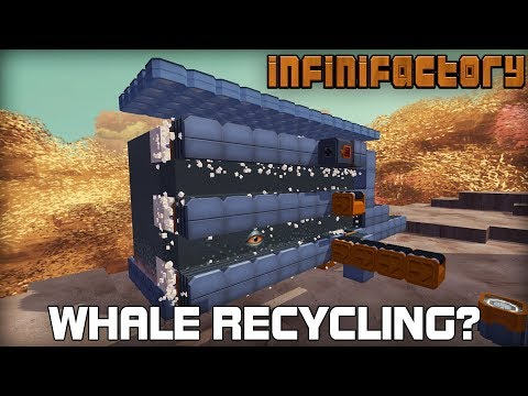 Building Tanks & Automatic Whale Recycling!?! (Infinifactory #10)