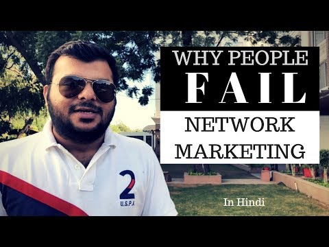 Why People Fail in Network Marketing?