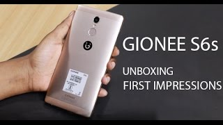 Gionee S6s : Unboxing & First Look | Hands on | Price