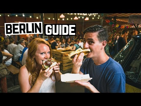 BERLIN CITY GUIDE - German Food Markets, Beer, Memorials and