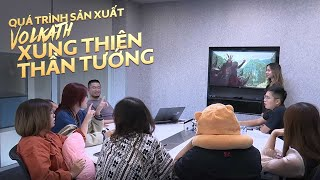 QUÁ TRÌNH SẢN XUẤT trang phục VOLKATH Xung Thiên Thần Tướng - Garena Liên Quân Mobile