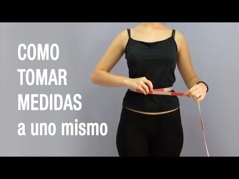 Como tomar medidas del cuerpo a uno mismo tutorial for Medidas ergonomicas del cuerpo humano