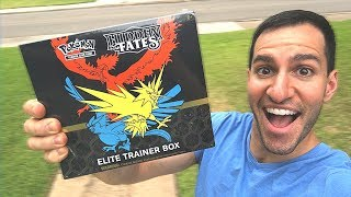 *NEW POKEMON CARDS HIDDEN FATES BOX IS HERE!* Opening Pokemon HIDDEN FATES Elite Trainer Box!