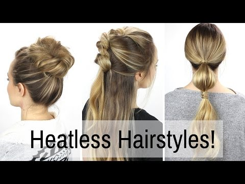 7 Days of Heatless Hairstyles