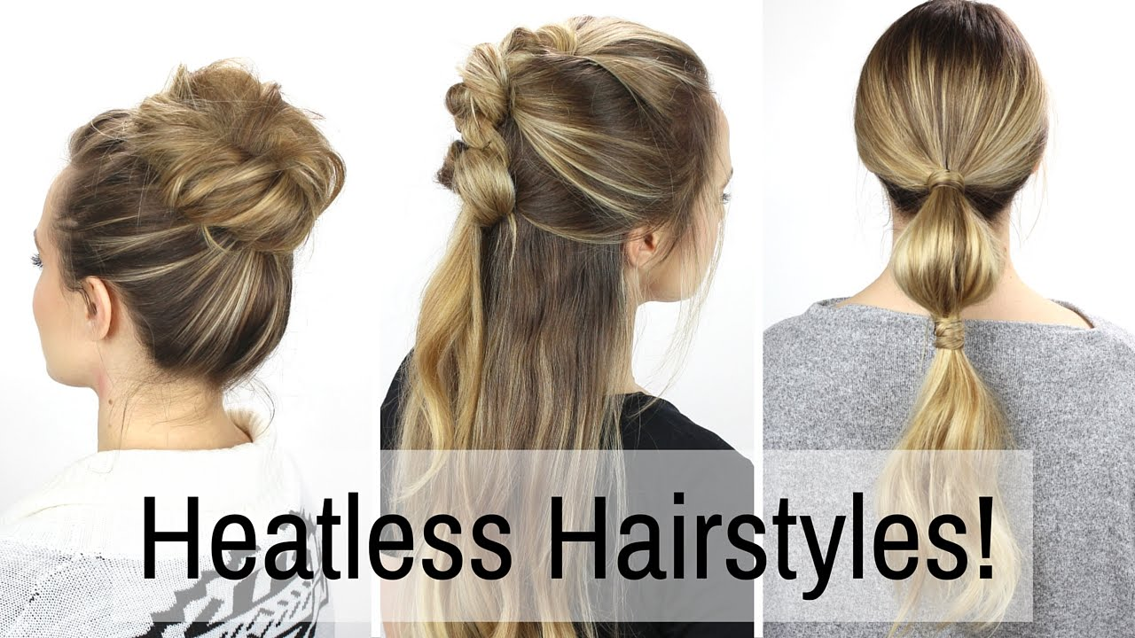 7 days of heatless hairstyles! - youtube