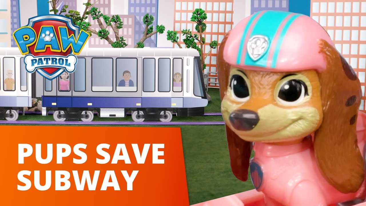 Download Liberty and the Pups Save the Subway Station!🚈 - PAW Patrol Toy Pretend Play Rescue