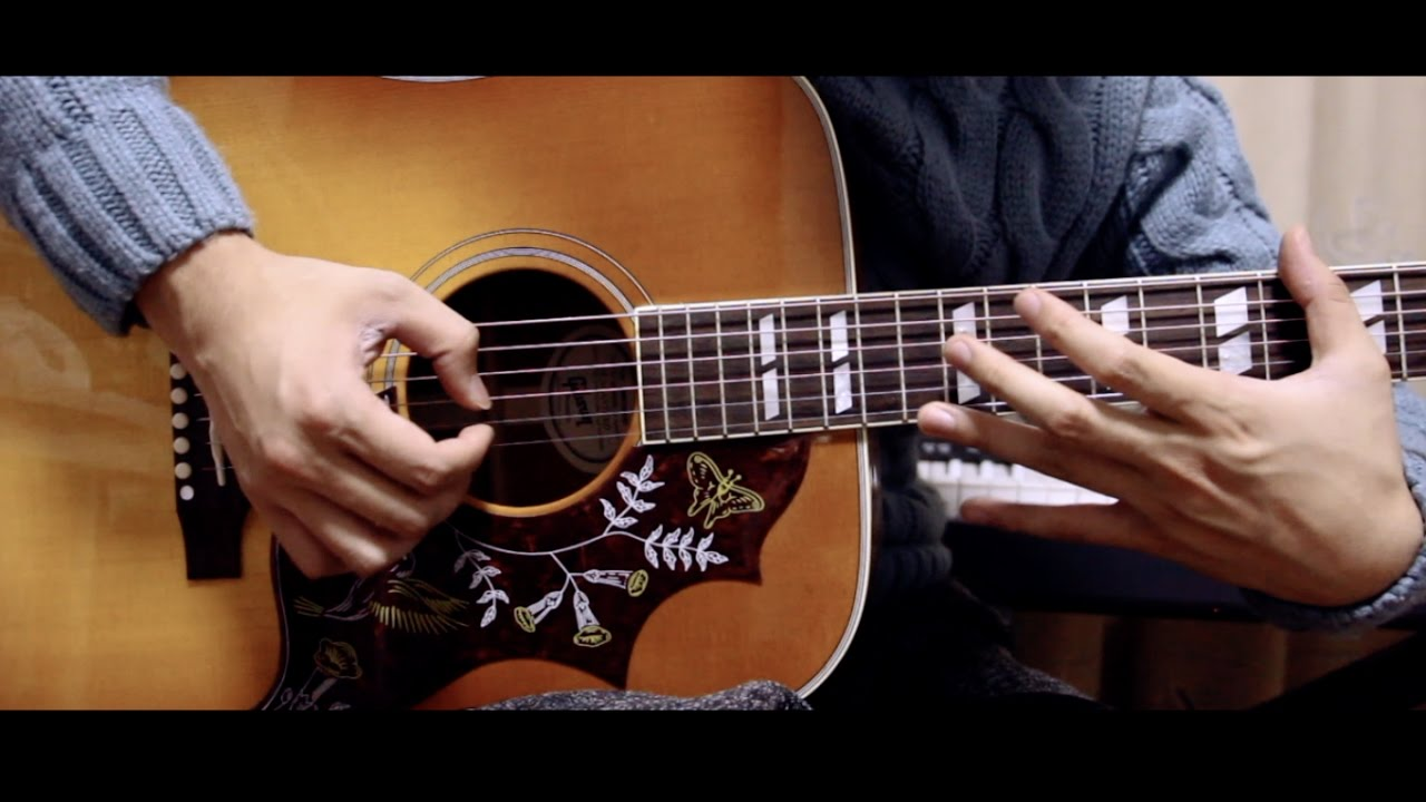Careless Whisper Fingerstyle Guitar Acousticsam With Tabs Chords