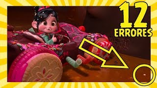12 Errores en Ralph el Demoledor Que Nunca Notaste (Wreck It Ralph Movie Mistakes)