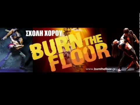 Burn the Floor  - Flyer Campaign 2011-12
