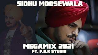 Sidhu Moosewala Mega Mix 2021 Ft. P.B.K Studio