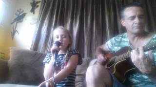 Queens of the stone age  The Vampyre of Time and Memory cover by 8yr old girl