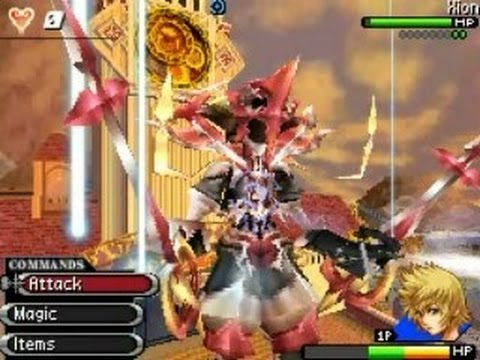 Kingdom Hearts 358/2 Days - Final Boss (All Forms) - YouTube