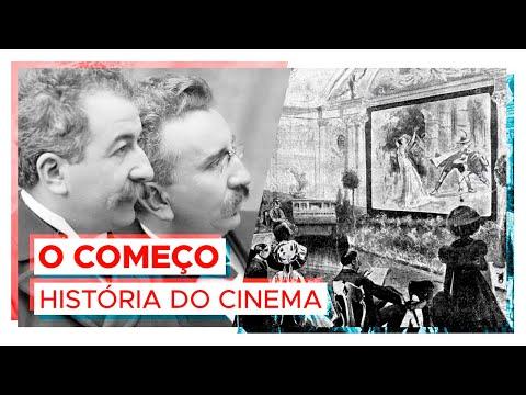 Como o cinema começou!  HISTÓRIA DO CINEMA 1