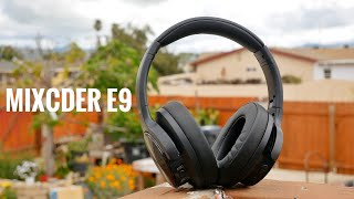 Mixcder E9 Review | Budget Active Noise Cancelling Bluetooth Headphone
