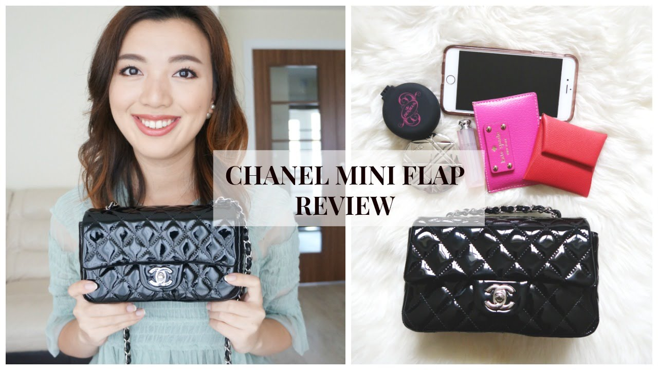 Chanel Mini Flap Bag Review What Fits