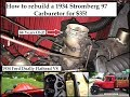 How to rebuild a 1934 Stromberg 97 Carburetor for $35 vs $300 for a new one!