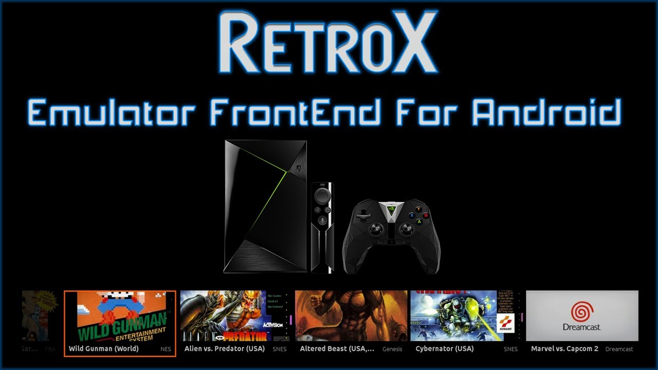 RetroX Emulator FrontEnd For Android