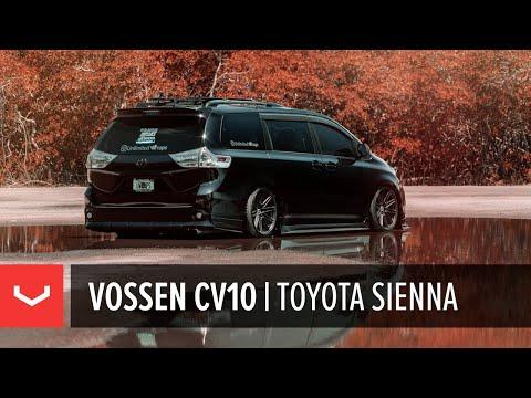 Toyota Sienna | Vossen CV10 Concave Wheel | Unlimited Wraps Miami