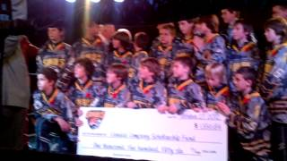 Sabres Cheque Presentation with Don Cherry Part 2 - Ringside for kids event - Oct. 27 2012