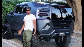 Jamie Foxx spotted driving the Rezvani Tank SUV 500Hp (Photo)